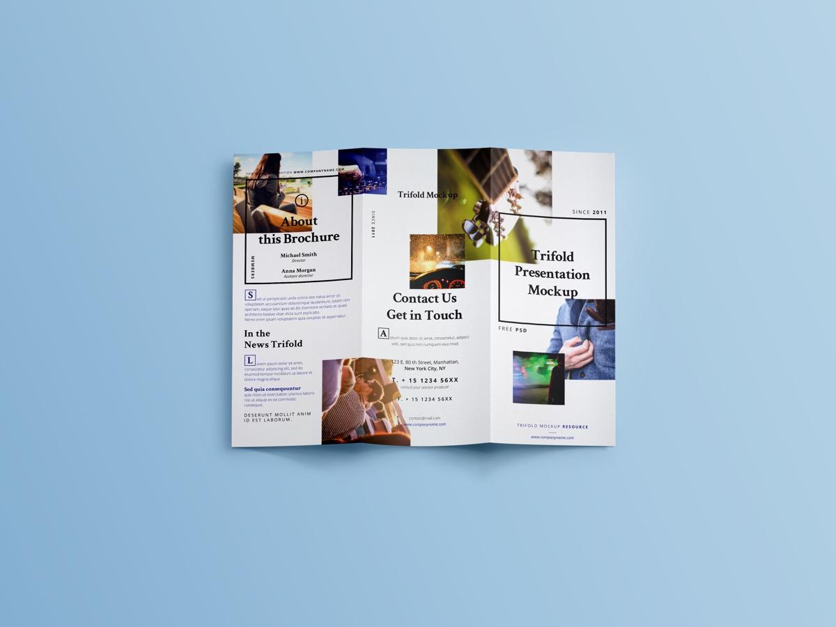 Brochure Tri-Fold Simple Designs Kirk Kleckner -