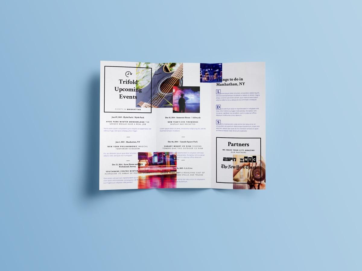 Brochure Simple Designs Kirk Tri-Fold - Kleckner